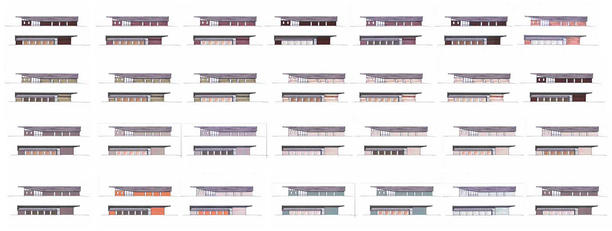 Building Elevation Studies : Choice medical care clinic henry david louth
