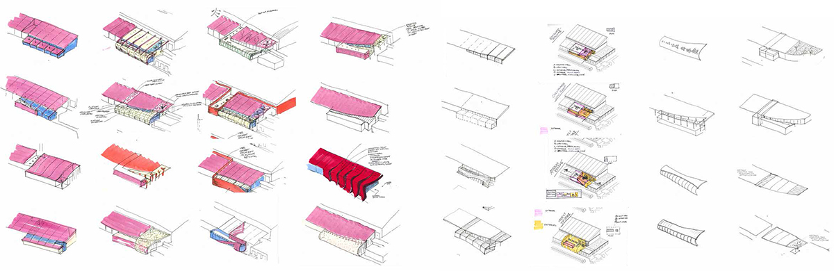 University Mississippi IPF Addition Concept Sketch Catalogue